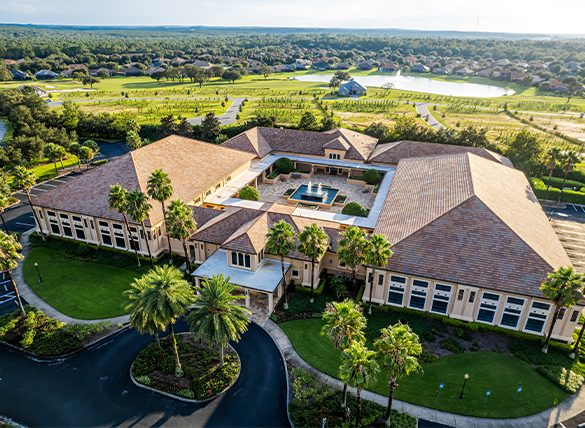 Activity Center Pool Terra Vista, Hernando, FL - Drone Photography