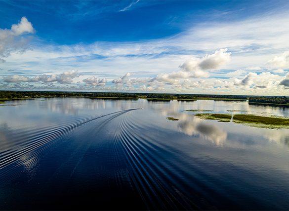 Lake Hernando, Florida Aerial Drone Photography