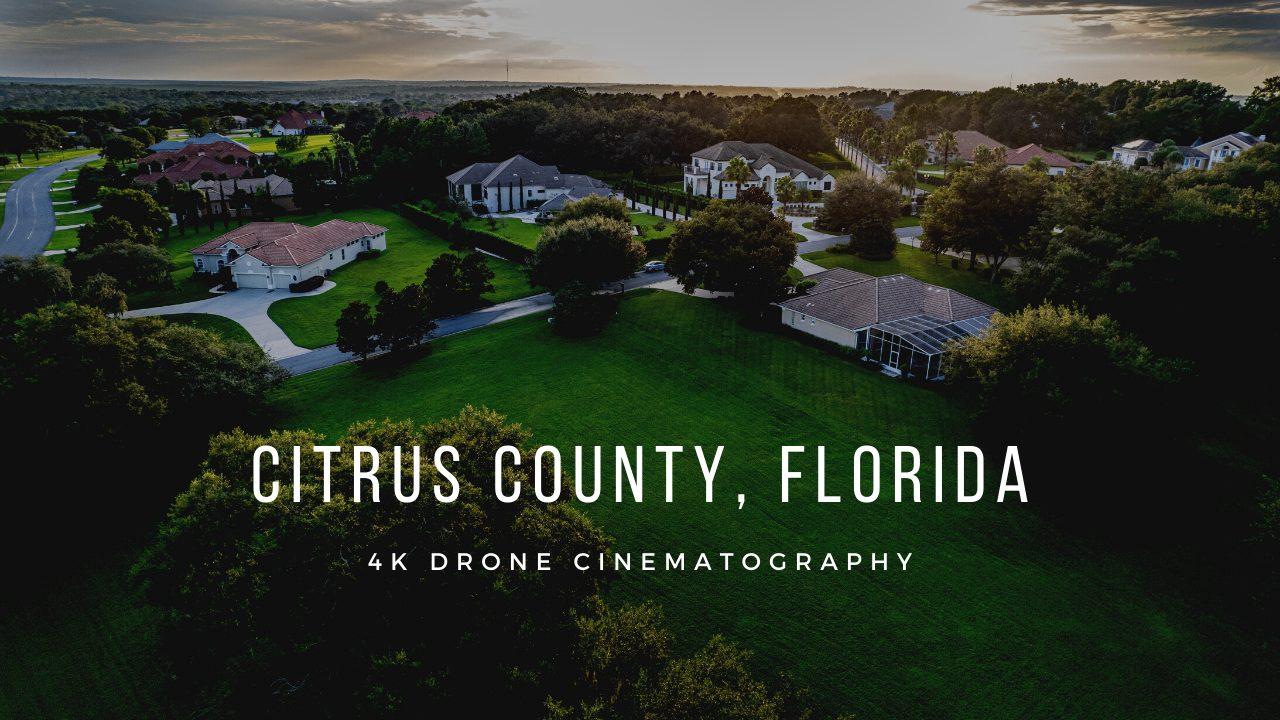 Citrus County, Florida 4K Videography